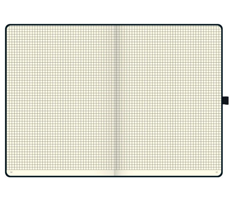 Книга записная А4 Компаньйон, клетка, черн. Brunnen - фото 3
