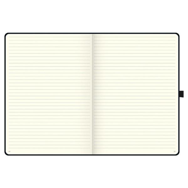 Книга записная А4 Компаньйон, линия, черн. Brunnen - фото 3