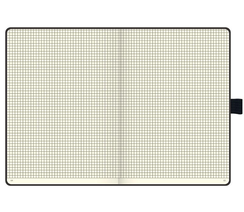 Книга записная А5 Компаньйон, клетка, черн. Brunnen - фото 3