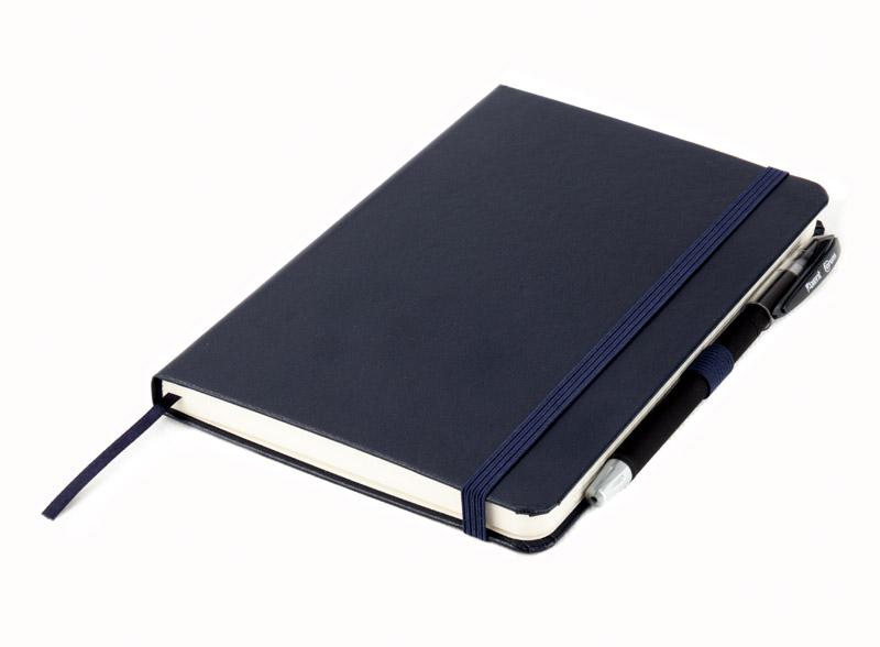 Книга записная Partner А5, 96л., кл., син. Axent - фото 8