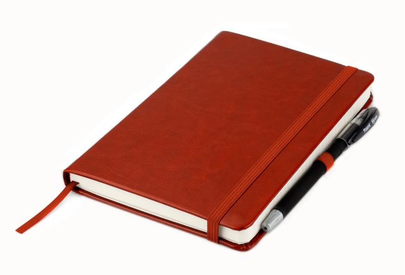 Книга записная Partner Lux А5, 96л., кл., бордо Axent - фото 6