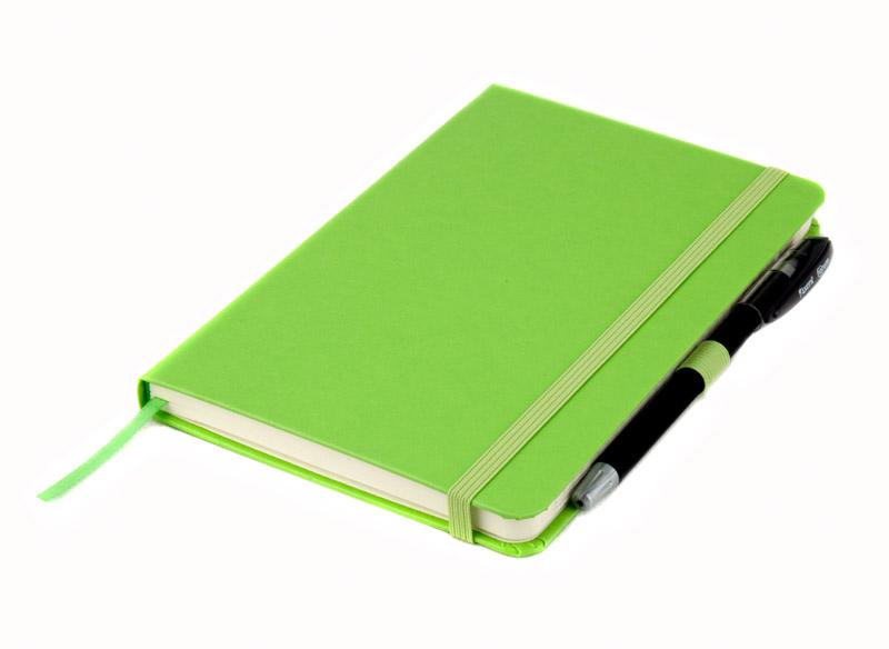 Книга записная Partner А5, 96л., кл., салат. Axent - фото 9