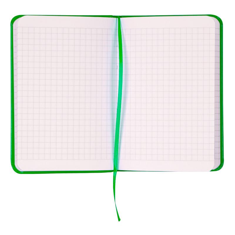 Книга записная Partner А6, 96л., кл., салат. Axent - фото 6