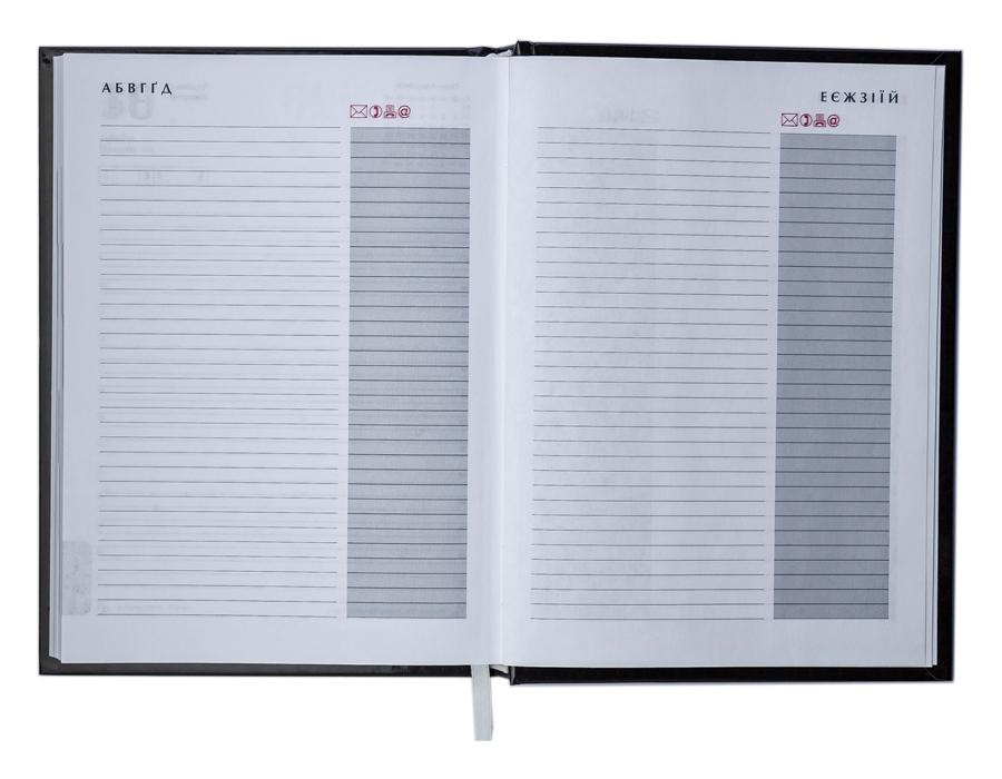 Ежедневник не датированный Expert, 150*205мм., 144л., бумвинил, линейка, бордо BuroMax - фото 6