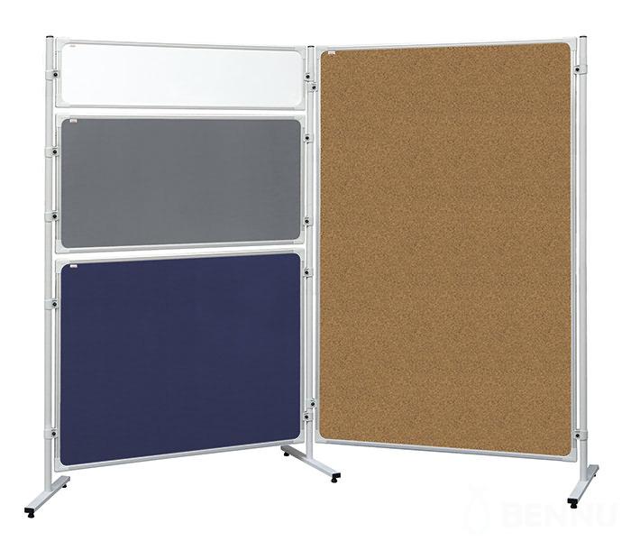 Доска модерационная 120х120см., пробковая, алюминиевая рамка 2x3 - фото 3