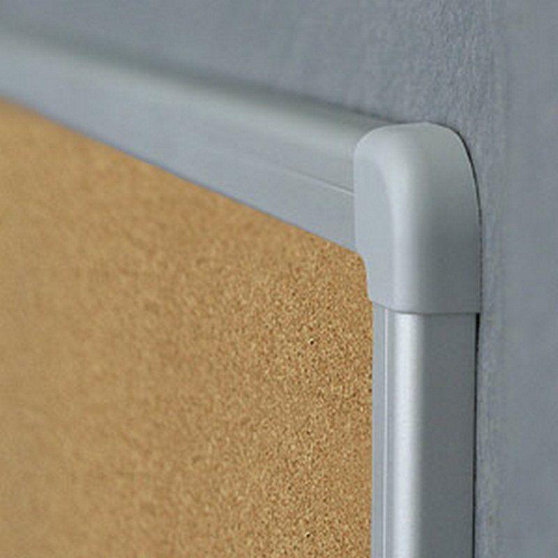 Доска модерационная 120х120см., пробковая, алюминиевая рамка 2x3 - фото 4