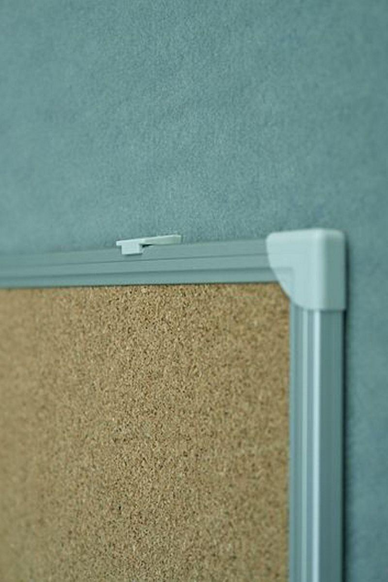 Доска пробковая C-line 100*150см., алюминиевая рамка 2x3 - фото 2