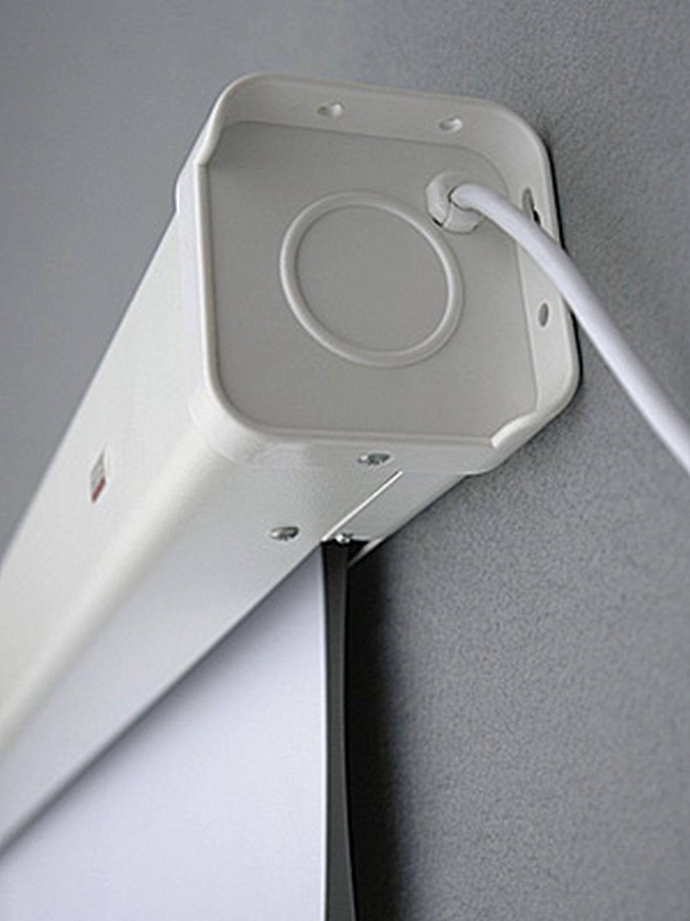 Экран для проектора Profi electric настенный, электрический 240х240см. 2x3 - фото 2