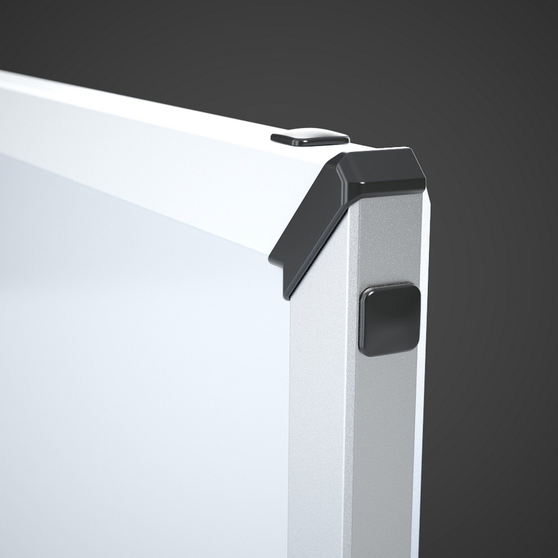 Доска белая магнитная сухостираемая StarBoard 100*150см., алюминиевая рамка, керамика 2x3 - фото 4