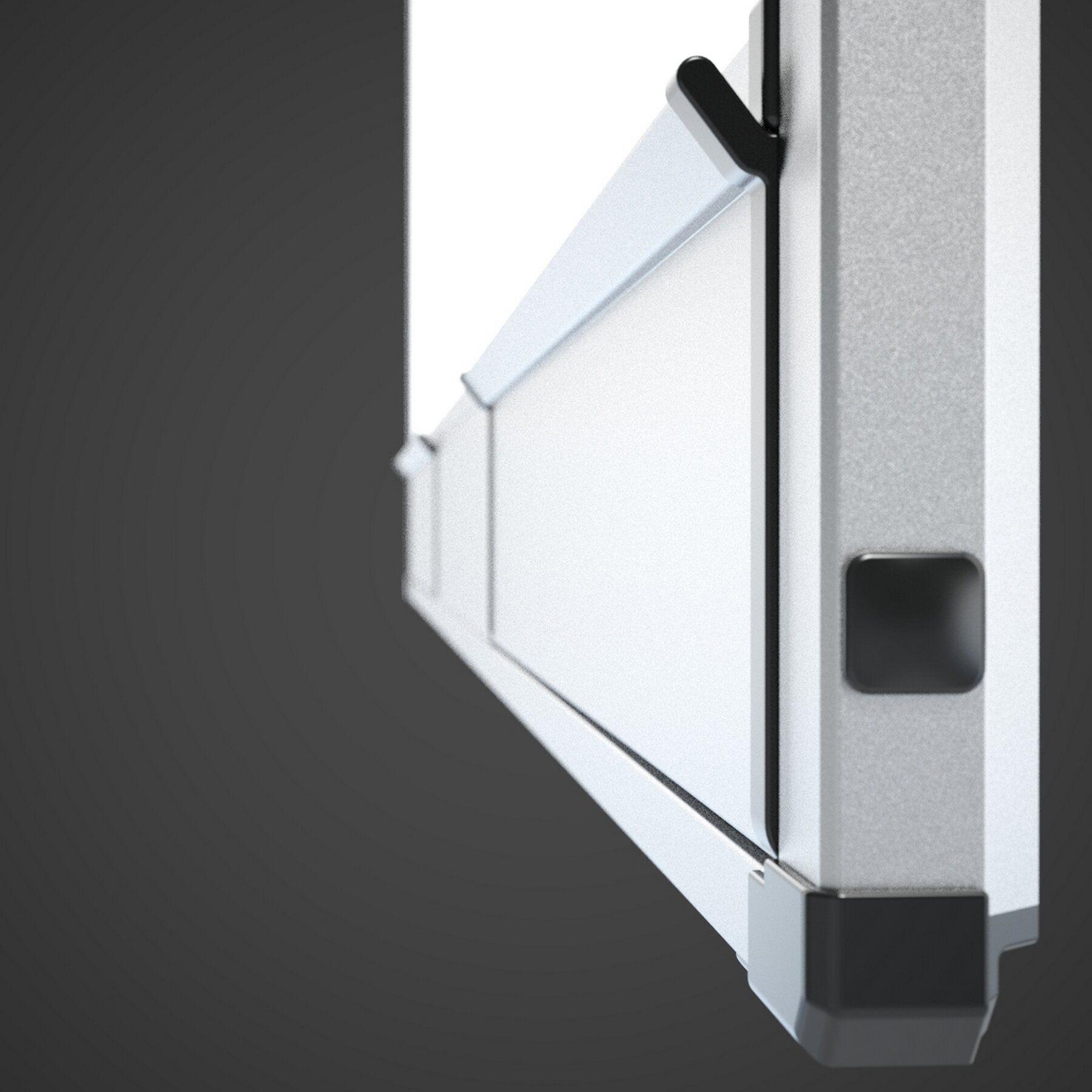 Доска белая магнитная сухостираемая StarBoard 100*150см., алюминиевая рамка, керамика 2x3 - фото 7