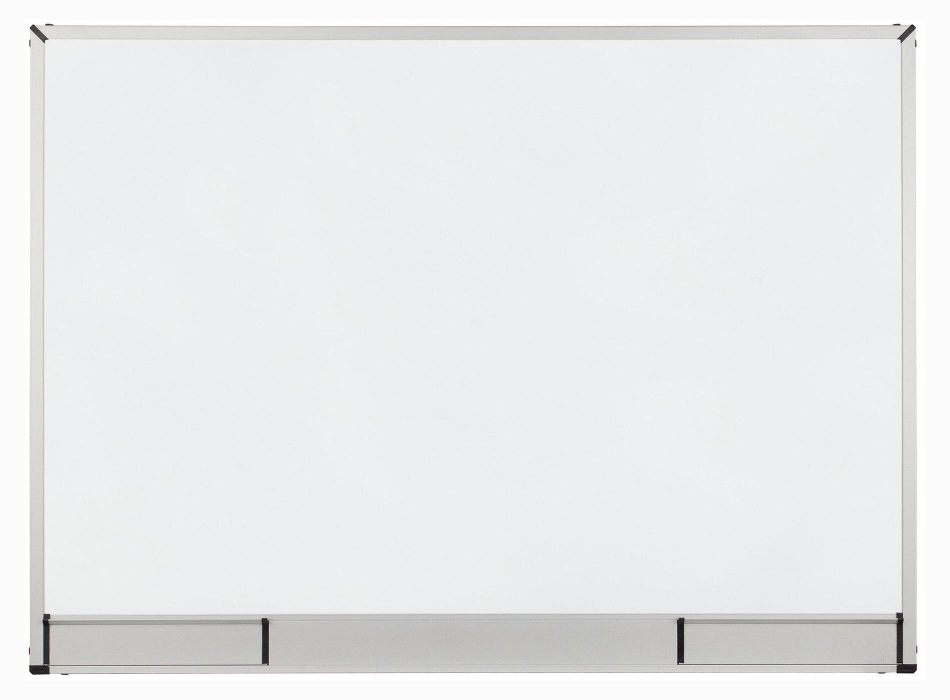Доска белая магнитная сухостираемая StarBoard 60*90см., алюминиевая рамка, лак 2x3 - фото 1