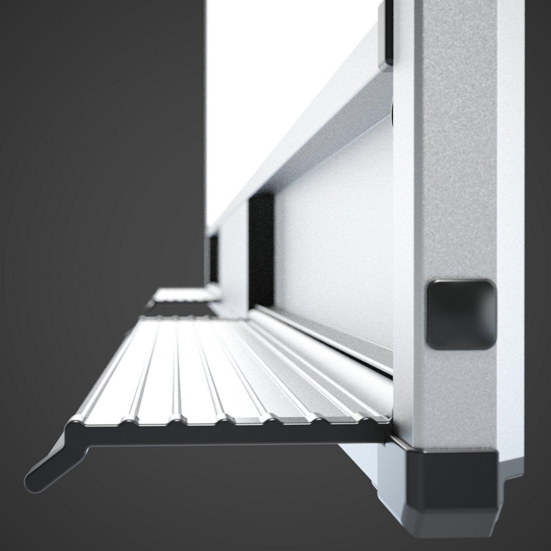 Доска белая магнитная сухостираемая StarBoard 90*120см., алюминиевая рамка, лак 2x3 - фото 7