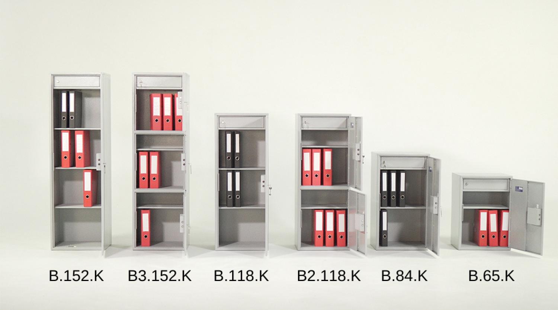 Сейф офисный (652*460*350мм.) електронный кодовый замок, B.65.E Griffon - фото 6