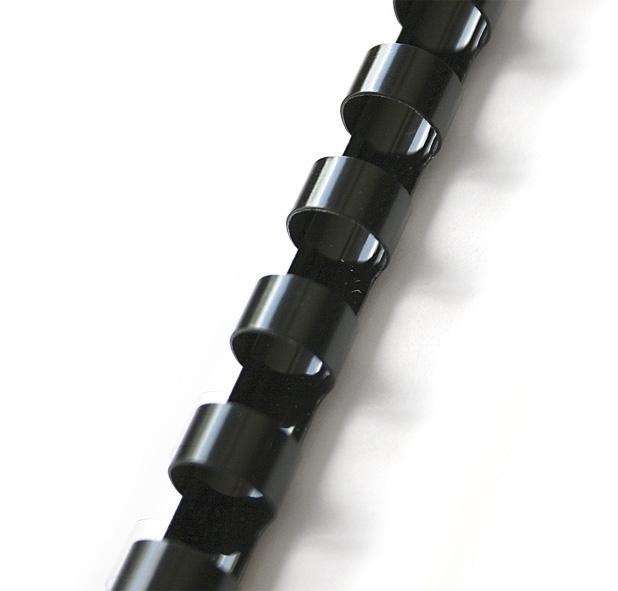 Пружины пластиковые 51мм., 450л., 50шт./уп., черн. D&Art - фото 1