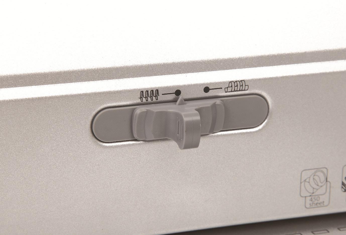Переплетчик для металлических и пластиковых пружин Ibind X5, до 120/450л., дырокол 20л. D&Art - фото 6