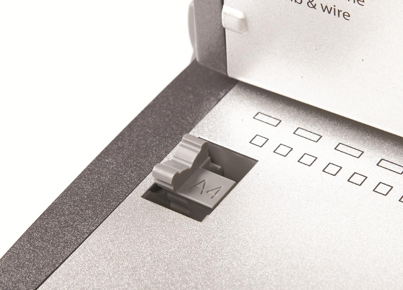 Переплетчик для металлических и пластиковых пружин Ibind X5, до 120/450л., дырокол 20л. D&Art - фото 8