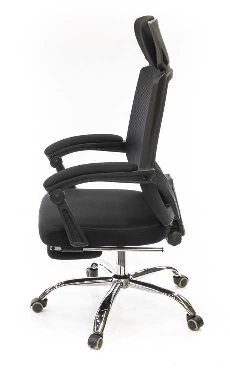 Кресло для персонала Катран CH RL(L), черн. АКЛАС - фото 3