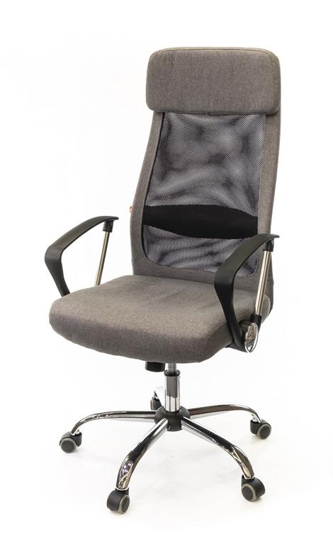 Кресло для персонала Гилмор FX СН TILT, серый АКЛАС - фото 1