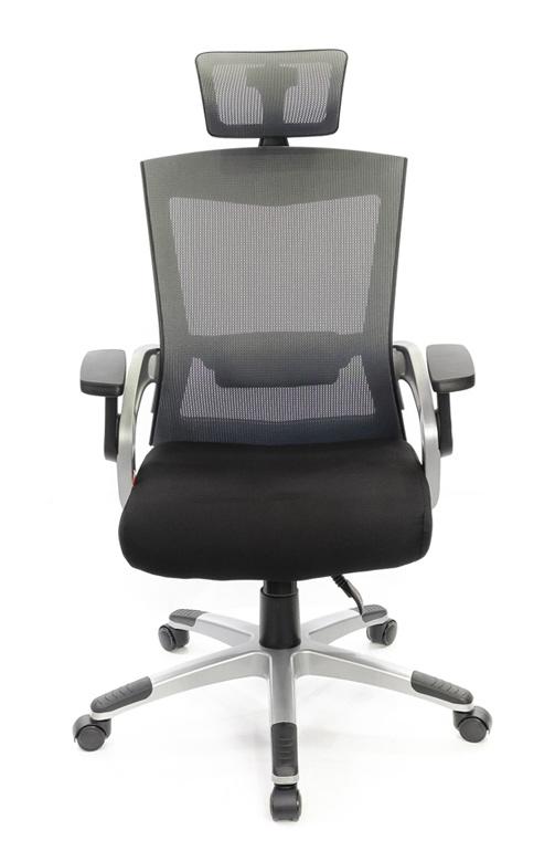 Кресло для персонала Прима PL HR ANF, серый АКЛАС - фото 2