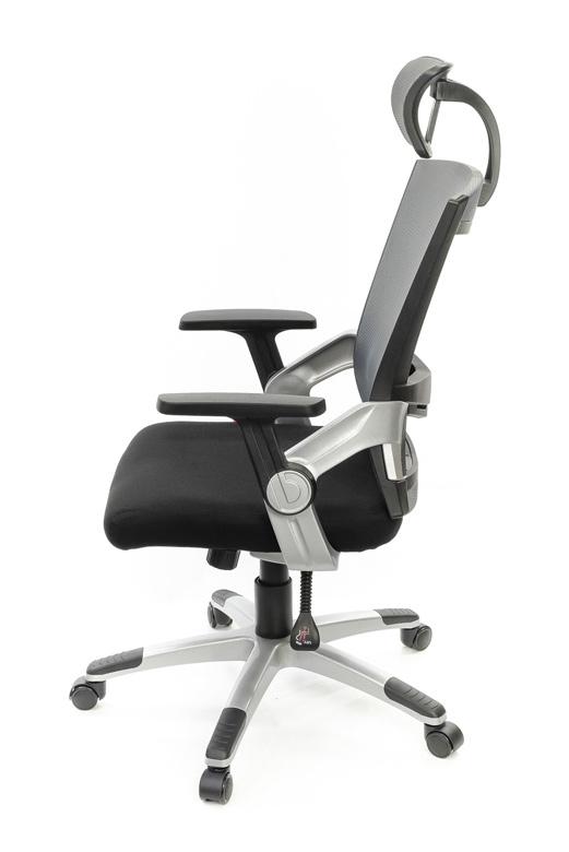 Кресло для персонала Прима PL HR ANF, серый АКЛАС - фото 3