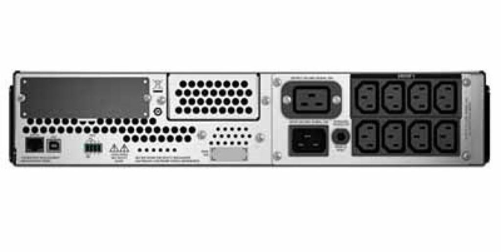Источник бесперебойного питания (ИБП) APC SMART-UPS C RM, 3000VA, USB (SMC3000RMI2U) APS - фото 2
