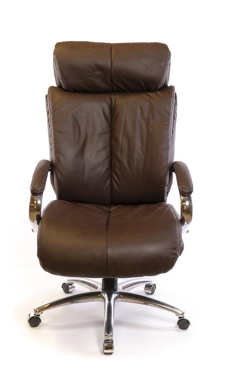 Кресло для руководителя Аризона Soft CH MB, коричн. АКЛАС - фото 2