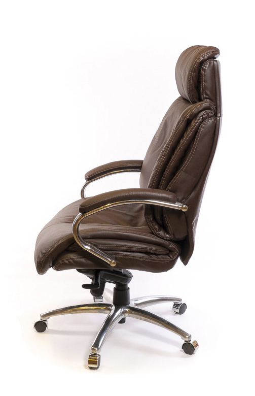 Кресло для руководителя Аризона Soft CH MB, коричн. АКЛАС - фото 3