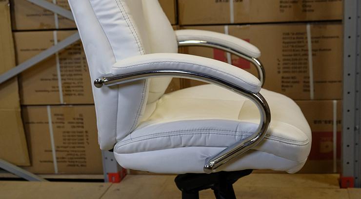 Кресло для руководителя Бадалона CH MB, беж. АКЛАС - фото 5