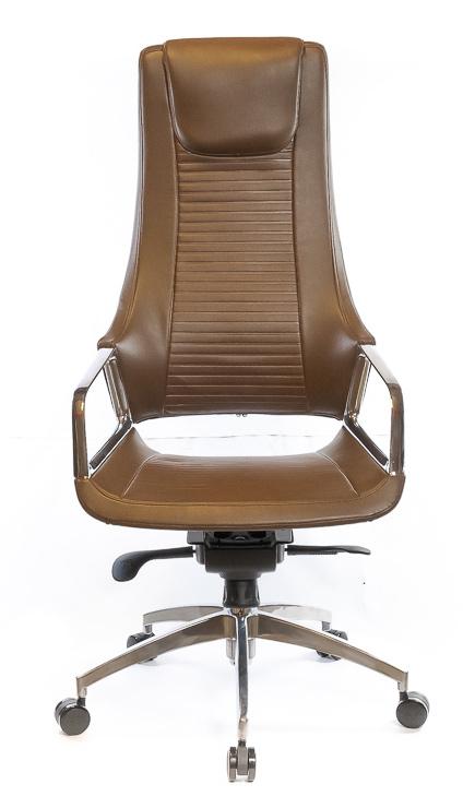 Кресло для руководителя Бристон AL MB, коричн. АКЛАС - фото 2