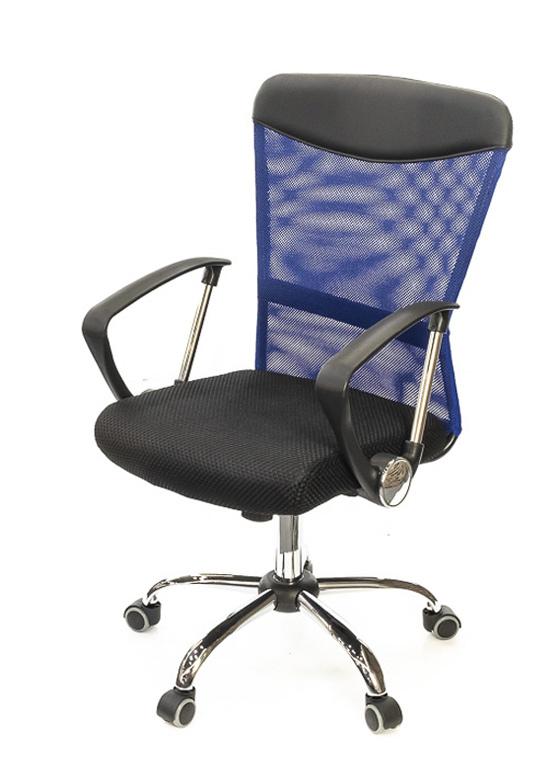 Кресло для персонала Ирвин CH TILT, син.