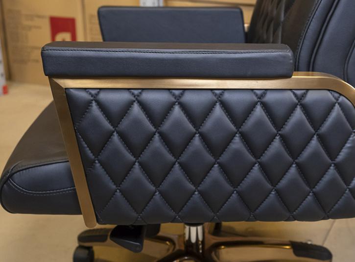 Кресло для руководителя Ридо CH SR, черн. АКЛАС - фото 5