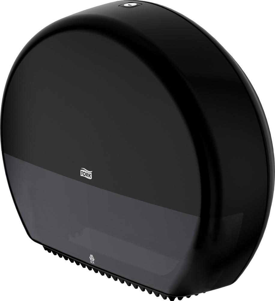 Диспенсер для туалетной бумаги в рулонах Джамбо,Elevation, пластик, (T2), черн. Tork - фото 4