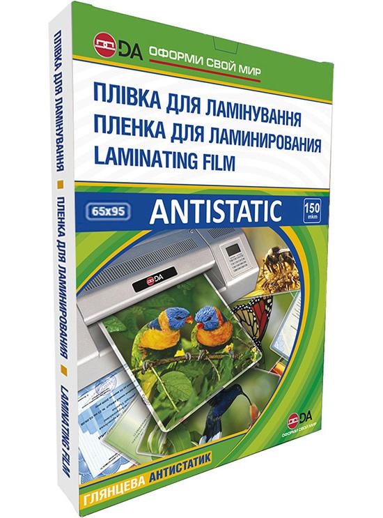 Пленка 65*95мм., 150мк., глянцевая, 100шт./уп. Antistatic D&Art - фото 2