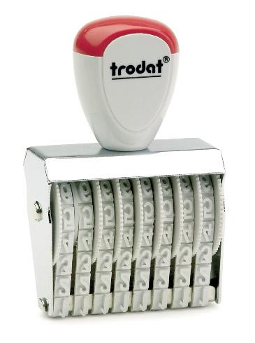 Нумератор 8-разрядный 5мм., ленточный Trodat - фото 1