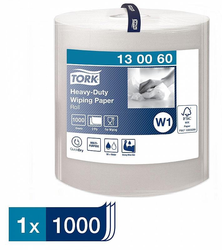Протирочная бумага большой рулон,Tork Advanced 430, 2-х сл., 36,9*34см., 340м., 1000 листов, бел. W1 Tork - фото 2