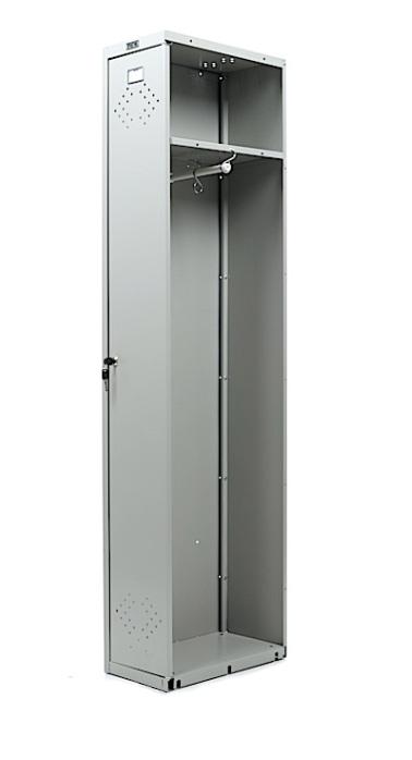 Шкаф для раздевалок, приставная секция (1830*275*500мм) метал., замок, серый Практик - фото 2