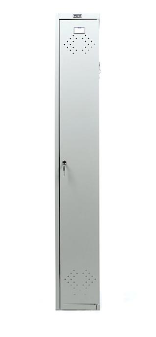 Шкаф для раздевалок, приставная секция (1830*275*500мм) метал., замок, серый Практик - фото 3