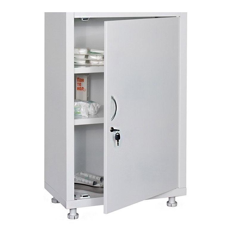 Шкаф медицинский HILFE MD 2 двери, 4 полки (1750/1850*600*400) метал., замок, бел. Hilfe - фото 4