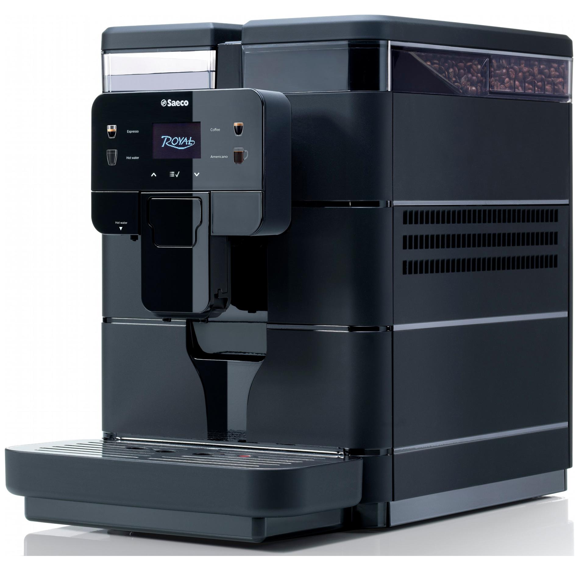 Кофемашина Saeco Royal Black, черн. SAECO - фото 4