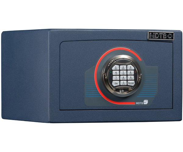 Сейф взломостойкий (220*350*310мм.) электронно кодовый замок, 1 полка, 1 класс, MDTB EK-22.E, син MDTB - фото 4