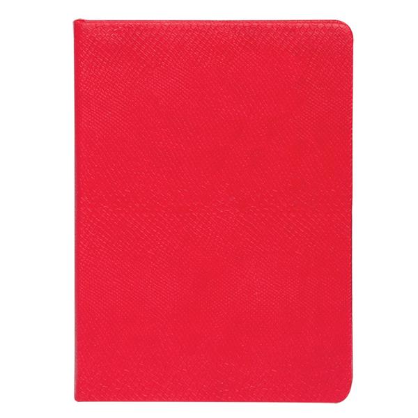 Ежедневник не датированный Amazonia, 150*205мм., 144л., бумвинил, линейка, красн.