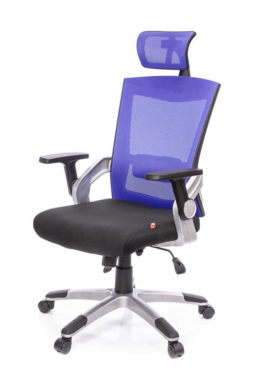 Кресло для персонала Прима PL HR ANF, син. АКЛАС - фото 8