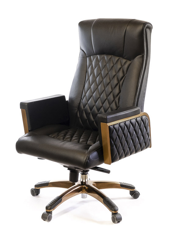 Кресло для руководителя Ридо CH SR, черн. АКЛАС - фото 7
