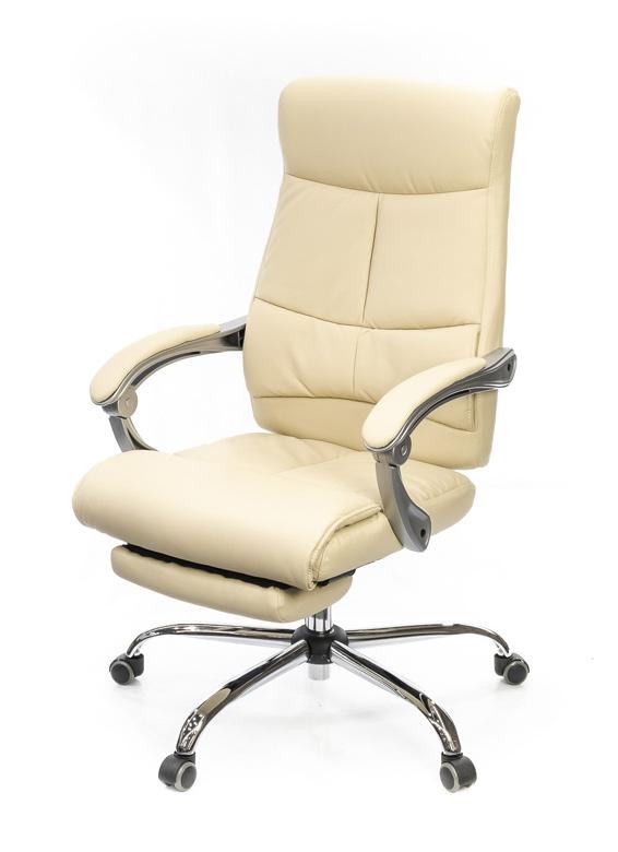 Кресло для руководителя Савой, беж. АКЛАС - фото 4