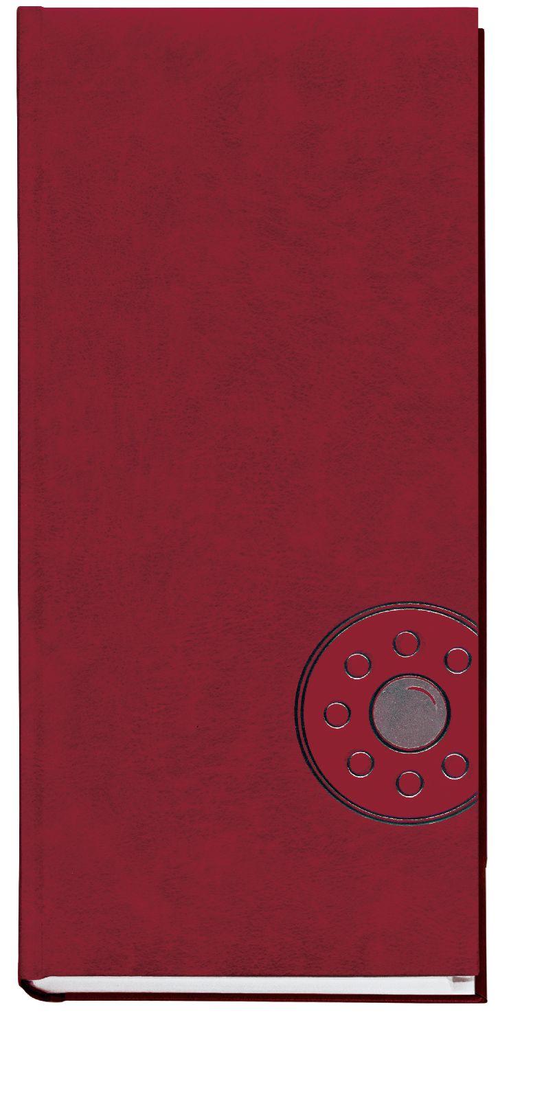 Алфавитка А4- (135*285мм), 176л., баладек,  бордо