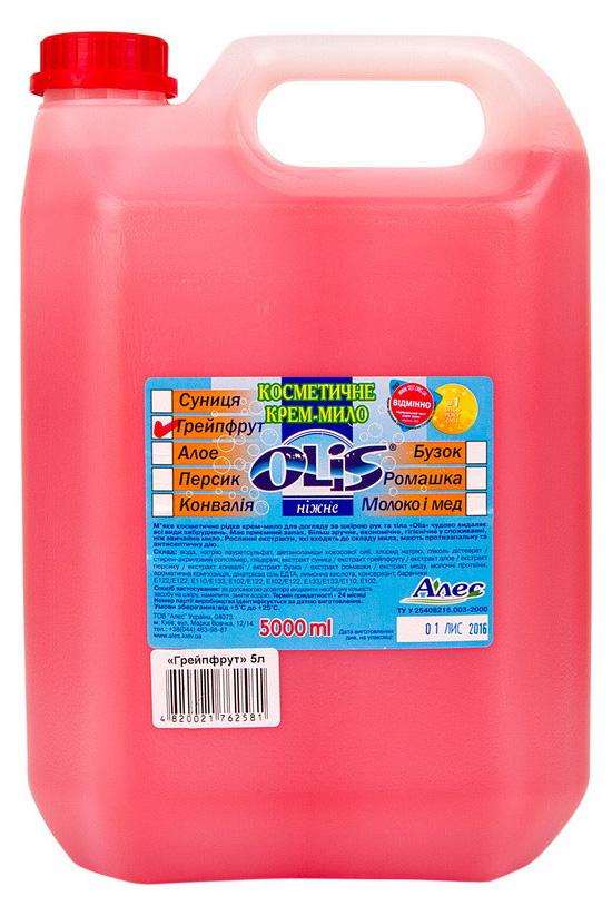 Мыло-крем жидкое 5л. Грейпфрут Олис - фото 2