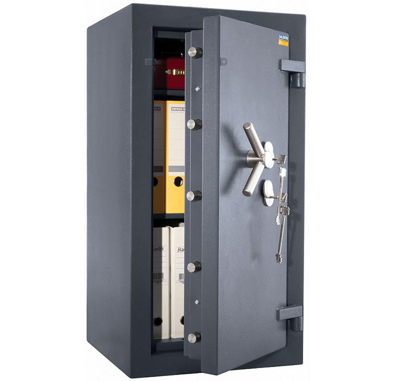 Сейф взломостойкий (990*510*510мм.) два ключевых замка, 2 полки, 5 класс, Алмаз 99 KL, графит