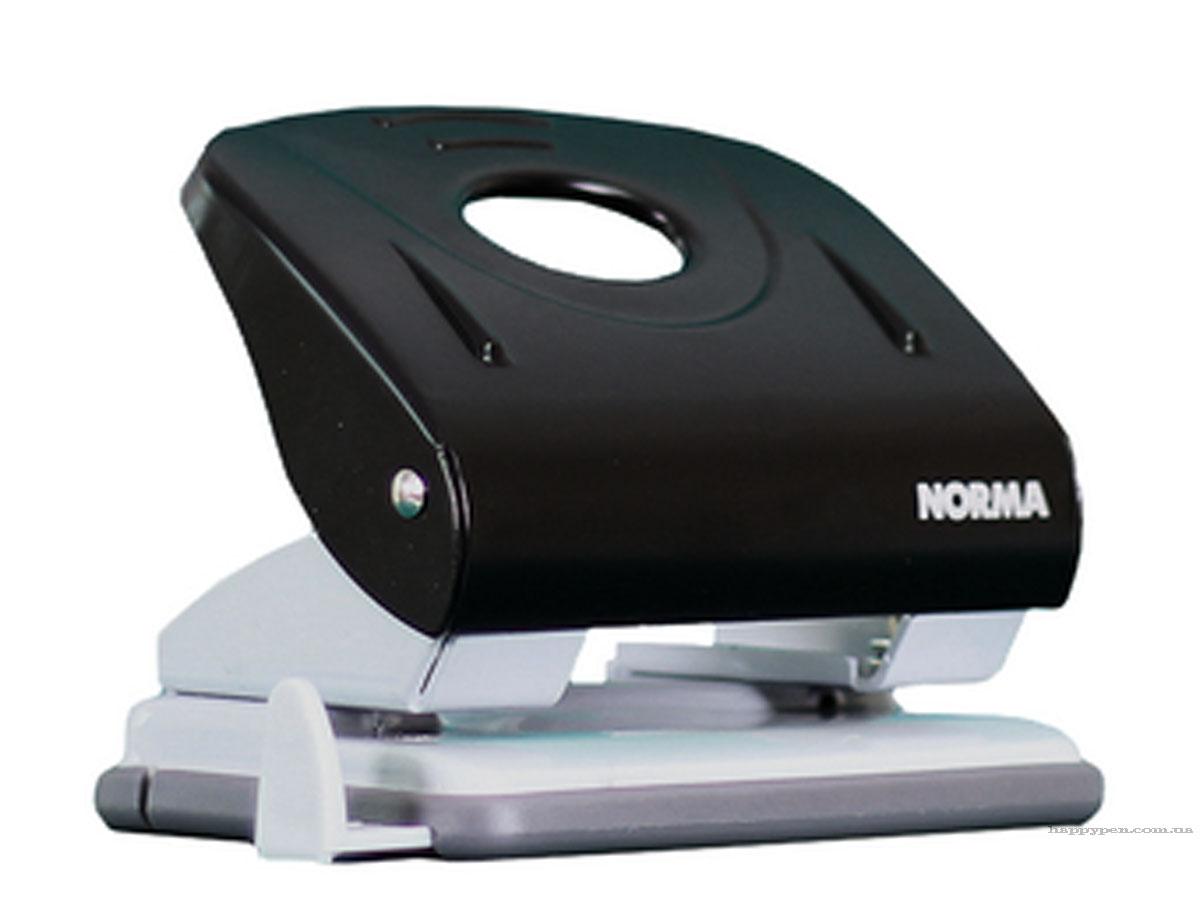 Дырокол средний 30л., металлический черн. NORMA - фото 2